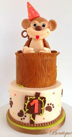 Party Monkey cake