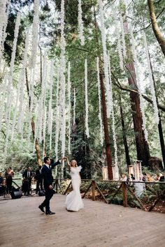 white and gray modern wedding at among California's best redwood forest wedding venues #bestweddingideaslink #topweddingideasproducts #topweddingideasfun #cheapweddingideas #weddingideaselegant