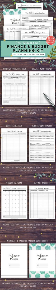 42 best BUDGETING PRINTABLES images on Pinterest Planner ideas - zero based budget spreadsheet template