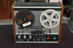 My parents slipped a reel to reel tape deck in the cabinet of our floor model stereo system, which had a radio, record player and a place for the records. I can still hear the clunk, clunk sound of the mechanism when you recorded and played back, which in my case was off the radio, America's Top $0 with Casey Casem.