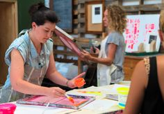 Koskela Workshops: Kate Banazi - Intro to ScreenPrinting. Sat 18 Jan 2014