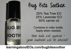 Recipes | Learning About EOs - Using Essential Oils Safely