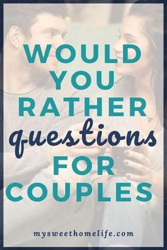 relationship questions 100 would you rather questions for couples that range from fun to dirty to hard to answer. have fun with these on your next date night! Healthy Relationship Tips, Healthy Marriage, Happy Marriage, Marriage Advice, Love And Marriage, Relationship Advice, Fun Relationship Questions, Strong Relationship, Date Night Questions