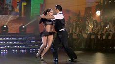 """Magdalena Bravi y Jorge Moliniers saltaron a la pista con un muy sensual tango. La azafata y su compañero deslumbraron en el piso de Showmatch al ritmo de """"Tanguera"""". No te pierdas su performance"""