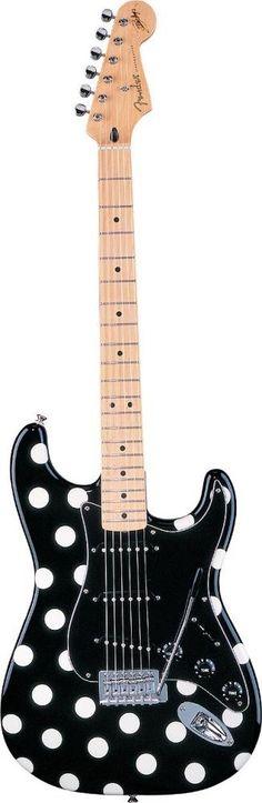 Fender Artist Series Buddy Guy Polka Dot Stratocaster