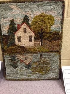Over the Hill and Running: Caraway Rug School You are in the right place about small rugs Here we of Rug Hooking Designs, Rug Hooking Patterns, Penny Rugs, Punch Needle Patterns, Rug Inspiration, Hand Hooked Rugs, Braided Rugs, Traditional Rugs, Tapestries