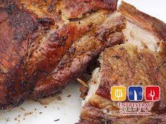 Costilla de cerdo en vara, espectacular suavidad y sabor! Orlando, Steak, Pork, Pork Ribs, Food, Kale Stir Fry, Orlando Florida, Steaks, Pork Chops