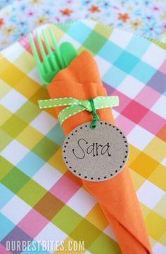 carrot plastic ware holder