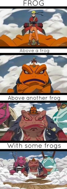 There TOADS not FROGS