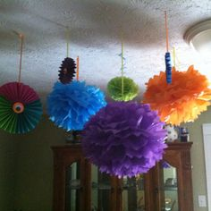 Monster party decorations