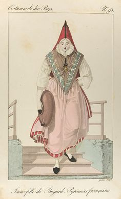 Young girl from Bugard | French Pyrenees | France