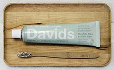 """""""Davids was founded with one vision....create the highest quality premium natural toothpaste with a commitment to sustainability...the sustainability of nature, the sustainability of American jobs, and the sustainability of your health...the sustainability of nature+america+you"""""""