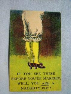 Victorians! Vintage Postcards, Vintage Ads, Vintage Stuff, Cheer Up, Wedding Humor, Belle Epoque, Vintage Outfits, Vintage Clothing, Illustrations
