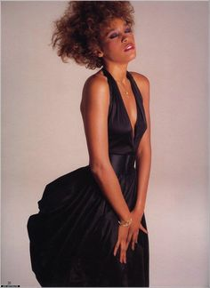 Whitney was the queen of gowns. She always exuded so much beauty and class.Thanks to JustWhitney.com
