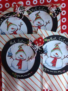 Fun Holiday Hot Coco pouches...Yum Yum ☕️