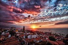 Puerto Vallarta, Jalisco, Mexico www.puertovallarta.net #vallarta #puertovallarta #mexico #sunsets #beaches