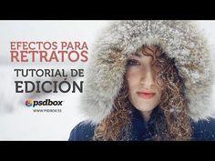 Efectos para Retratos Tutorial Photoshop en Español - YouTube