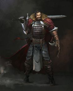 m Fighter Hvy Armor Greatsword Shortsword Underdark undercity urban City Human male med Fantasy Heroes, Fantasy Male, Fantasy Armor, Fantasy Weapons, Character Creation, Character Concept, Character Art, The Elder Scrolls, Dnd Characters