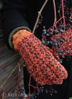Some amazing handmade gloves on this blog (no patterns).