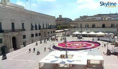 Live Cam St. George's Square in Valletta