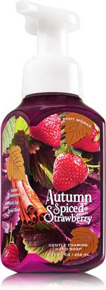 Autumn Spiced Strawberry Gentle Foaming Hand Soap - Soap/Sanitizer - Bath & Body Works