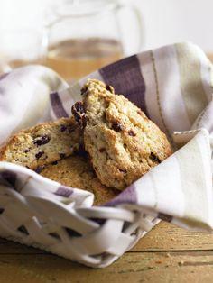 Chocolate toffee scones