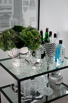 "Visit our web site for additional information on ""bar cart decor inspiration"". It is actually a superb place to find out more. Decor, Contemporary House Design, Bar Decor, Bar Furniture, Bar Cart Decor, Home Decor, Bars For Home, House Interior, Portable Bar"