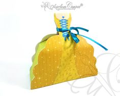 Royal Princess Favor Box, Princess Birthday Party, Yellow princess, Candy Box, Gift, Favor Box, Princess Party, sweets 16 -INSTANT DOWNLOAD on Etsy, $6.88 AUD