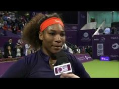 #Happy Serena Williams Returns To World #1!! Feb 15, 2013 .....    An emotional Serena Williams on returning to World #1in WTA Rankings following her QF thriller over Petra Kvitova at the Qatar Total Open in Doha.   #Tears   I LUV SERENA! #TeamSerena