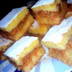 Egyszerű kevert almás süti Recept képpel - Mindmegette.hu - Receptek Cornbread, French Toast, Cheesecake, Cooking, Breakfast, Ethnic Recipes, Food, Apple Tea Cake, Millet Bread
