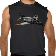 F-4 Phantom II Sleeveless Shirts Tank Tops