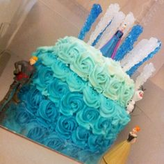 Do you want to build a snowman?! Frozen theme cake