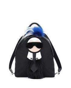 FENDI Fendi.  fendi  bags  fur  backpacks   Fendi Backpack b8cc637637937