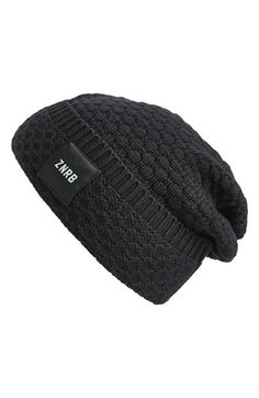 Men's ZANEROBE Knit Slouch Beanie