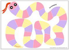 3 jeux en famille à imprimer: Les Serpents! - Allo Maman Dodo Family Games, Diagram, Animation, Education, Kids, Playground, Montessori, Editorial, Puzzle