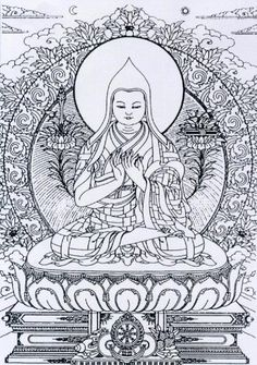 line art budda | Buddha Line Art Drawing Buddhist - kootation.com