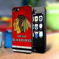 Chicago Blackhawks iPhone 4, 4s, 5, 5s, 5c or Samsung Galaxy S3, S4 Note 2, Note 3 Cell Phone Back Case Cover