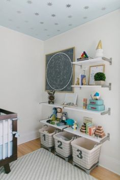Modern And Calm Cream White Baby Nursery Inspiration | Kidsomania