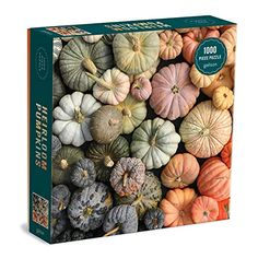 Difficult Jigsaw Puzzles, Puzzle Box, Puzzle 1000, Natural Light Photography, Colorful Artwork, Fall Pumpkins, Puzzle Pieces, Family Activities, Paper Goods
