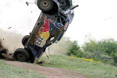 Accidente en el rali de Hungría