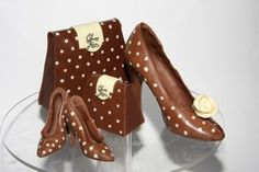 Dying for Chocolate: Chocolate Handbags and Platform Shoes