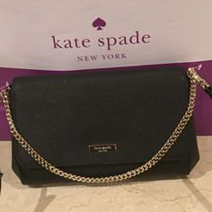 92333836ff Kate Spade Leather Crossbody Measures Approx  6.5 x 12 x 2. 22