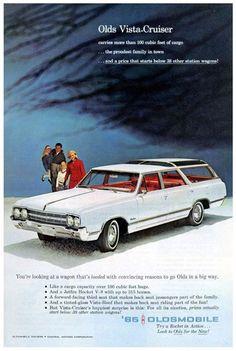 1965 Oldsmobile Vista-Cruiser station wagon
