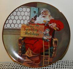 Franklin Mint For Sparkling Holidays by PeggysVintageVariety