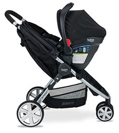 Britax B-Agile B-Safe 35 Elite Travel System  Domino