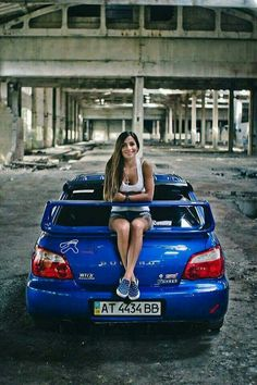 Subaru  #Subaru #Impreza #WRX #STi #Girl