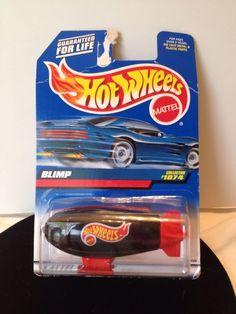 Hot Wheels Blimp New In Box 1074 Mattel 1998 Toy Car Vintage #HotWheels