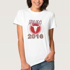 Run With The Bulls 2016 womens tshirt