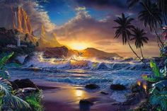 Gorgeous sunset - (#121146) - High Quality and Resolution Wallpapers on hqWallbase.com