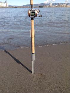 breakdown light portable fishing rod-pole holders